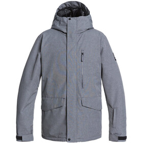 Quiksilver Mission Solid Chaqueta Snowboard Hombre, heather grey